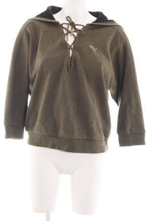 Puma Kapuzensweatshirt bronzefarben meliert Casual-Look