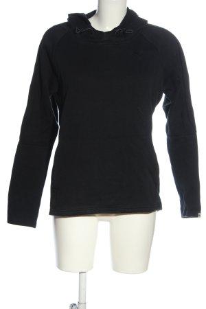 Puma Hooded Sweatshirt black athletic style