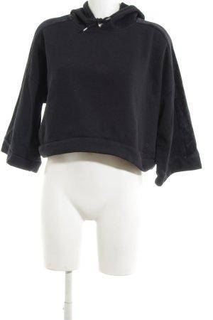 Puma Kapuzensweatshirt schwarz Casual-Look