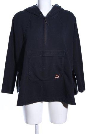 Puma Kapuzensweatshirt blau Casual-Look