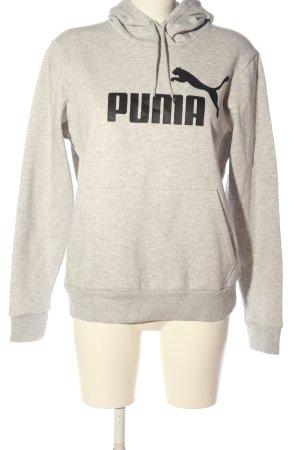 Puma Kapuzensweatshirt hellgrau meliert Casual-Look