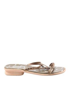 Puma Komfort-Sandalen bronzefarben Elegant