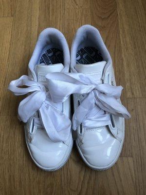 Puma Lack Sneaker | Weiß