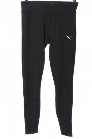 Puma Leggings schwarz schlichter Stil