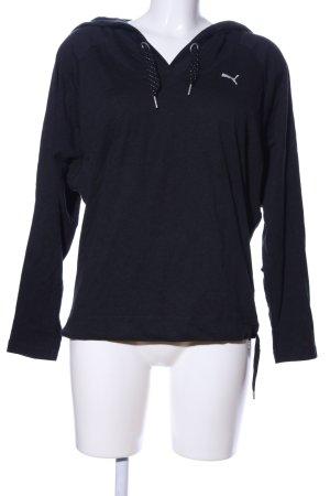 Puma Koszulka z kapturem czarny W stylu casual