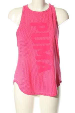 Puma Débardeur marcel rose motif graphique style athlétique