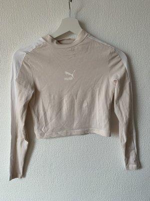 Puma T-shirt court crème-blanc