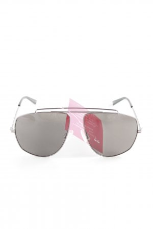 "Puma ovale Sonnenbrille ""Suede"" anthrazit"