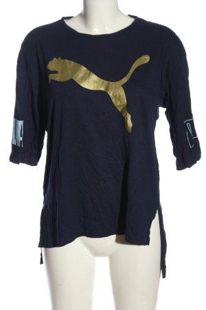 Puma Oversized Shirt Motivdruck Casual-Look