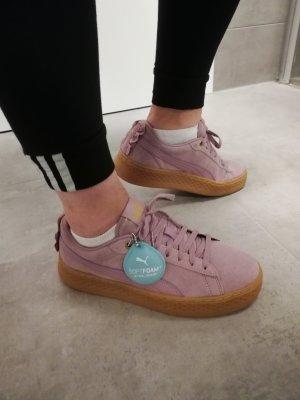 Puma platform Sneaker Leder Flieder 40.5
