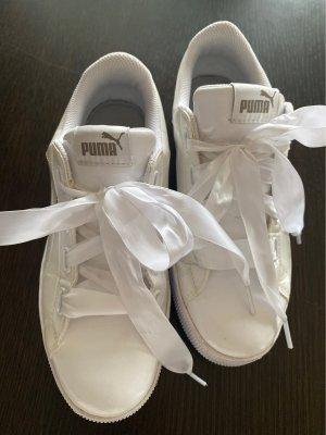 Puma Platform Trainers white