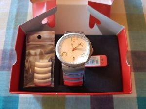 Puma Pollux Analog Uhr / Modell PU106P2A0007.504 / silber mit weiß