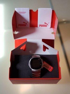 Puma Pollux / Puma Time Digitaluhr aus Edelst. / Modell PU105P2.0054.503 / silber / NEU + OVP