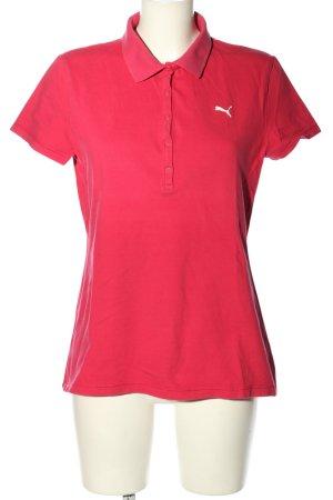 Puma Polo-Shirt rot Casual-Look