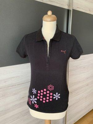 PUMA Polohemd schwarz
