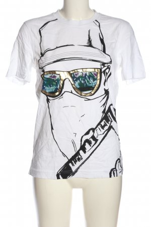 Puma Print-Shirt Motivdruck Casual-Look