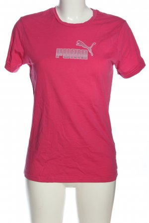 Puma Koszulka z nadrukiem różowy Wydrukowane logo W stylu casual