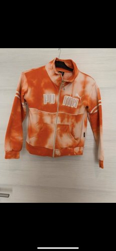 Puma Crewneck Sweater orange-white