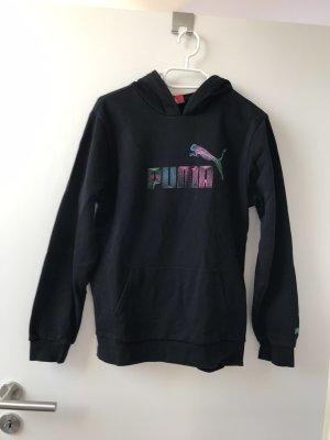 Puma Maglione con cappuccio nero