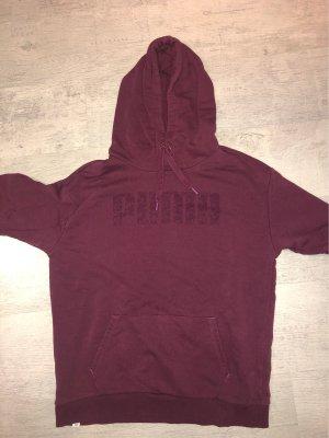 Puma Hooded Sweater bordeaux