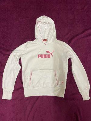 Puma Jersey con capucha rosa-blanco