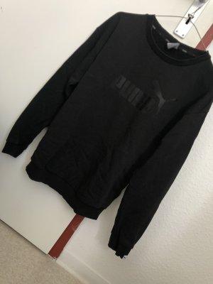 Puma Długi sweter czarny