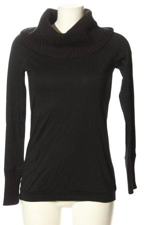 Puma Turtleneck Shirt black casual look