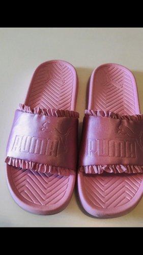 Puma Sandalias de playa rosa