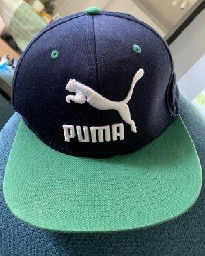 Puma Gorra de plato azul-verde