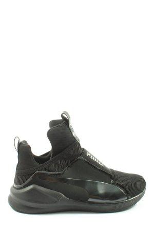 Puma Sneakersy wciągane czarny W stylu casual
