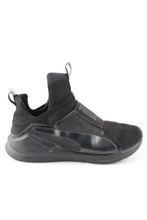 Puma Schlüpfsneaker schwarz Casual-Look