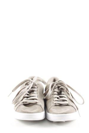 Puma Schnürschuhe wollweiß-hellgrau sportlicher Stil