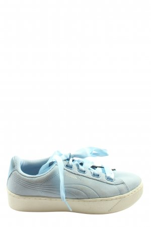 Puma Schnürsneaker blau sportlicher Stil