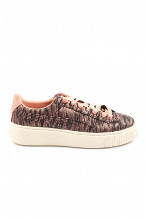 Puma Lace-Up Sneaker nude-black flecked casual look