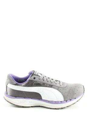 Puma Sneakers met veters lichtgrijs-wit casual uitstraling