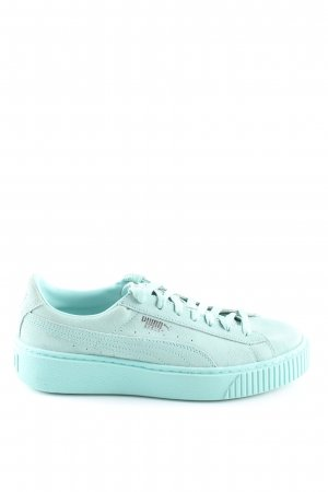 """Puma Lace-Up Sneaker """"Basket"""" turquoise"""