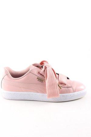 Puma Schnürsneaker pink Casual-Look