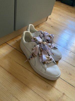 Puma Schuhe Sneaker Basket Bow Schleife Gr 39