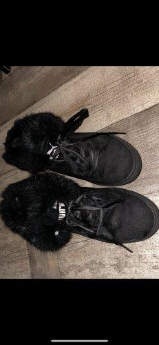 Puma Schuhe, sneaker mit Fell