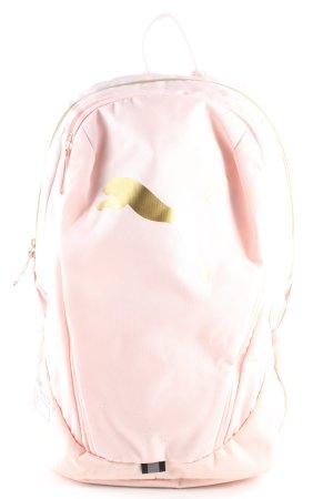 Puma Schulrucksack pink Schriftzug gedruckt Casual-Look