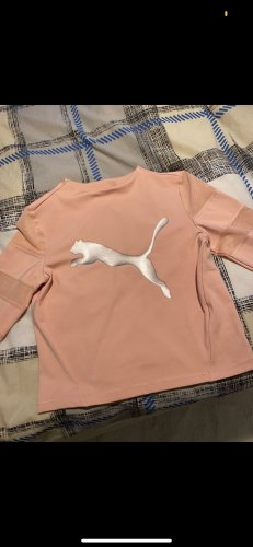 Puma Cut Out Top rose-gold-coloured-pink
