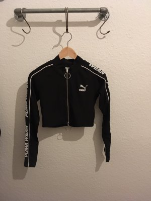 Puma Twin Set tipo suéter blanco-negro