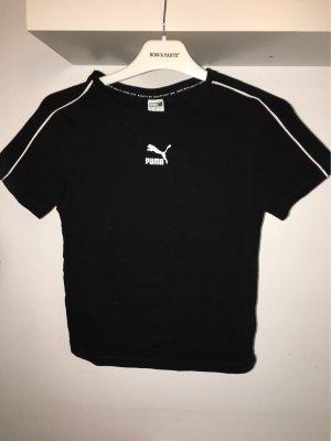 Puma Sportshirt zwart-wit