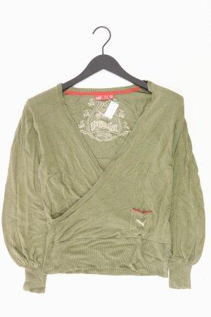 Puma Shirt mit V-Ausschnitt Größe 38 Langarm grün