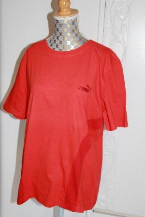 Puma Camisa holgada rojo Algodón