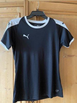 Puma Shirt Sportshirt Gr S schwarz-weiß