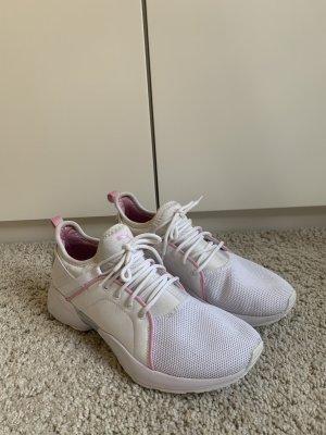 Puma Shoes white / pink