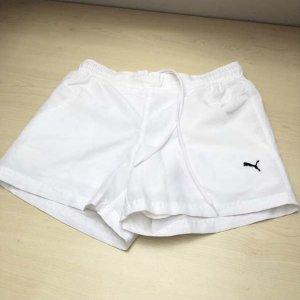 Puma Pantaloncino sport bianco-nero
