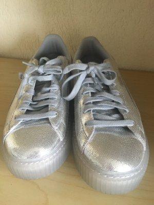 Puma Silber metallic sneakers