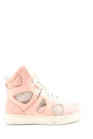 Puma Zapatos de patinador crema-blanco look casual